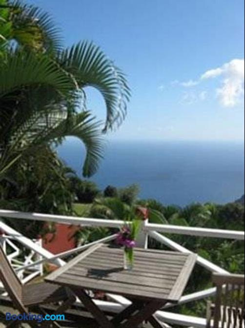El Momo Cottages - Windwardside - Patio