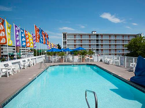 Spinnaker Motel - Ocean City - Pool