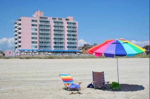 Port-O-Call Hotel - Ocean City - Beach