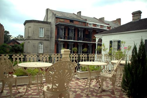 The Cornstalk Hotel - New Orleans