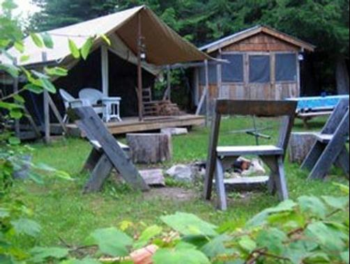 Huckleberry Tent and Breakfast North Idaho - Clark Fork