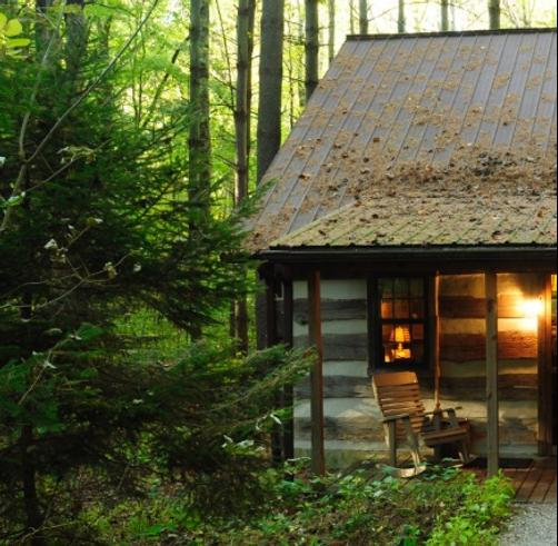 Hocking Hills Frontier Log Cabins - Logan