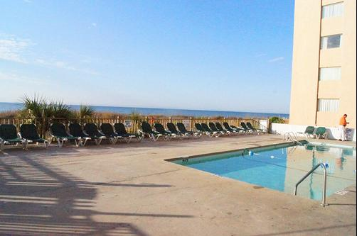 Ocean Plaza Motel - Myrtle Beach - Pool