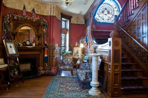 Castle Marne Bed & Breakfast - Denver - Lobby