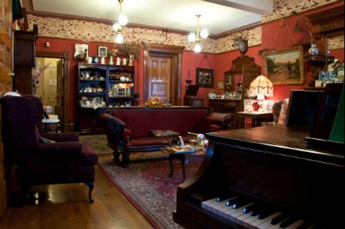 Castle Marne Bed & Breakfast - Denver - Living room
