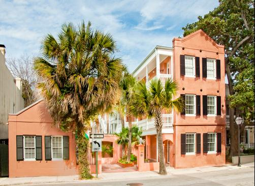 Elliott House Inn - Charleston - Building