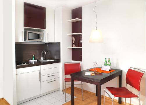 Frederics Serviced Apartments - Munich - Kitchen