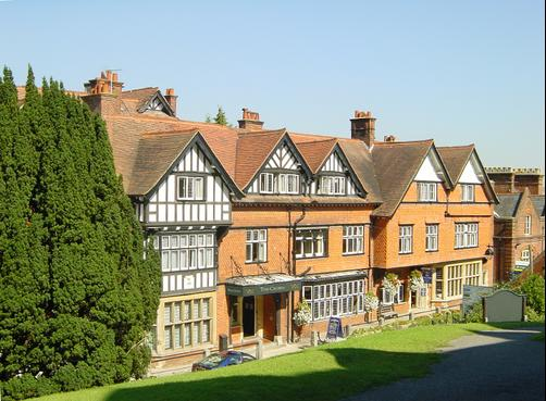 The Crown Manor House Hotel - Lyndhurst - Building