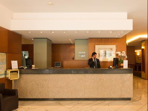 Exe Majestic - Naples - Front desk