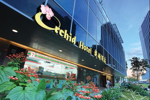 Orchid Hotel - Singapore - Building