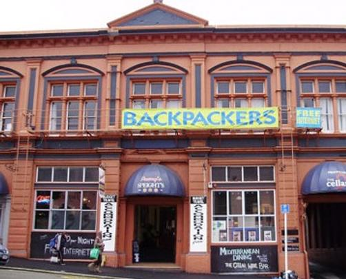 Pennys Backpackers - Dunedin - Building