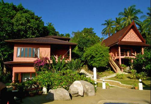 The Rocks Luxury Villas - Ko Tao - Building