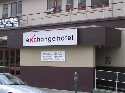 The Exchange Hotel - Lower Hutt - Building