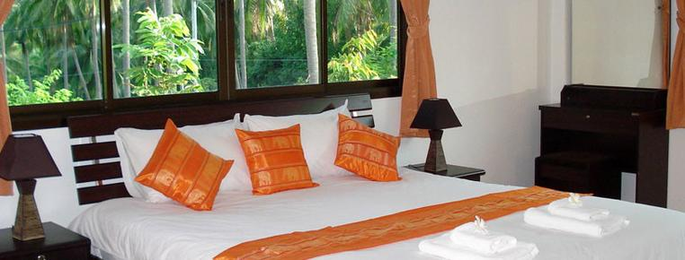 Connie's Villas - Ko Samui - Bed