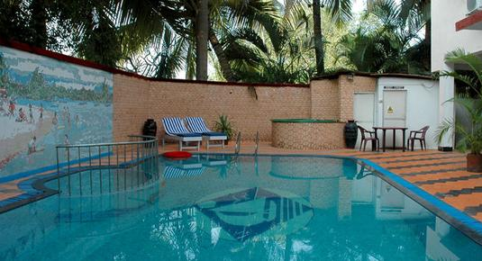 Don Hill Beach Resort - Candolim - Pool