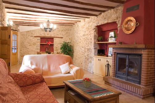 Casa Rural Ildum Plaza - Castellón - Living room