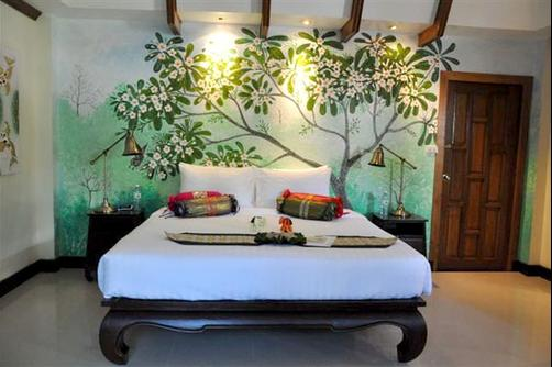 Baan Malinee Bed and Breakfast - Phuket - Bed