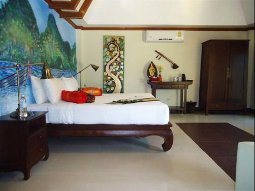 Baan Malinee Bed and Breakfast - Phuket - Bedroom