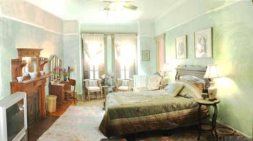 Villa 121 Guest House - New York - Bedroom