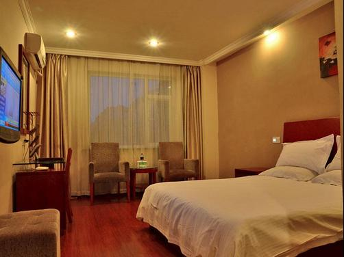 Greentree Inn Nangtong West Hao Road Express - Nantong - Bedroom