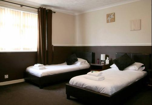 Townhead Hotel - Lockerbie - Bedroom