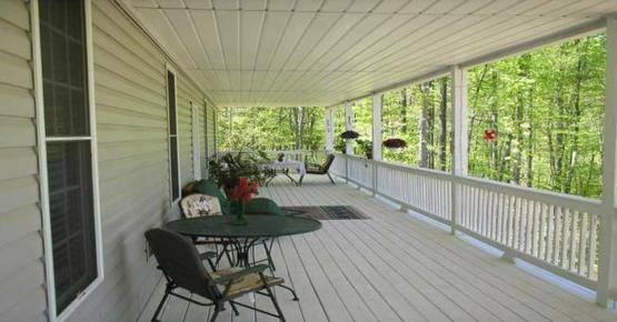 Simpson's Hollow B&B - Lovingston - Patio