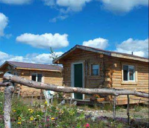 Earth Song Lodge - Healy - Building