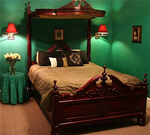 Napoleon's Retreat Bed & Breakfast - St Louis - Bedroom