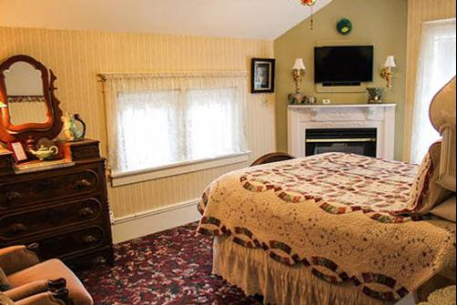 Scofield House B&B - Sturgeon Bay - Bedroom