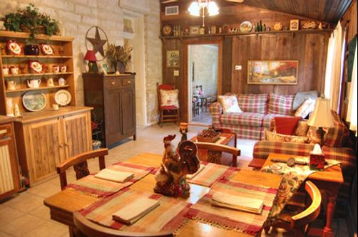 Old Rock House Bed and Breakfast - Hico - Restaurant