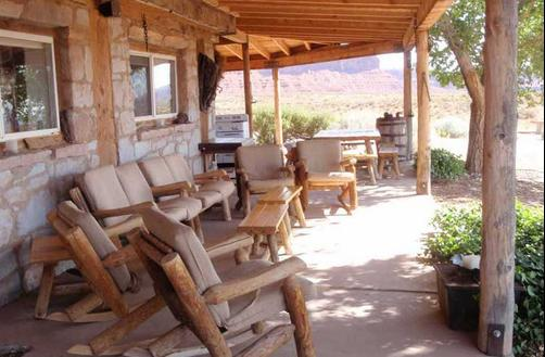 Valley Of The Gods B&B - Mexican Hat - Patio