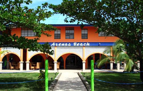Arenas Beach - Corn Island - Building