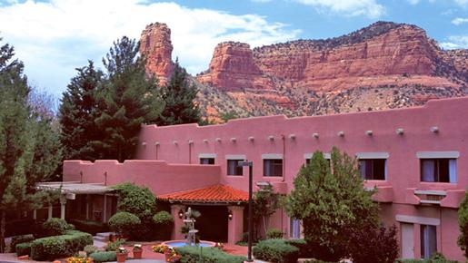Bell Rock Inn - Sedona - Front desk