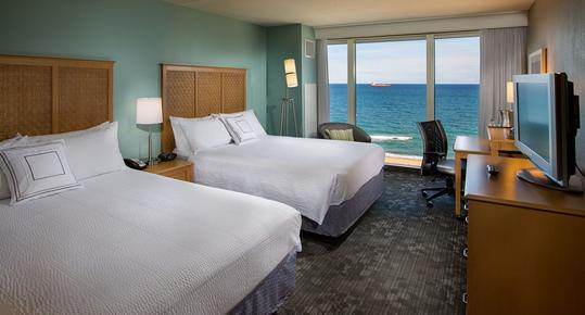 Courtyard by Marriott Fort Lauderdale Beach - Fort Lauderdale - Bedroom