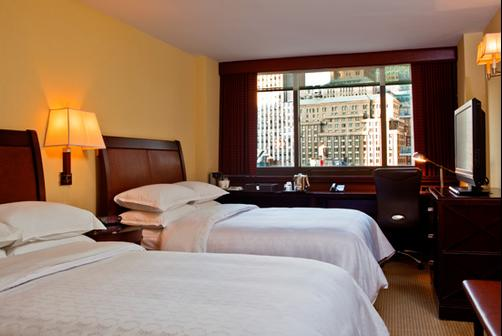 Sheraton New York Times Square Hotel - New York - Bedroom
