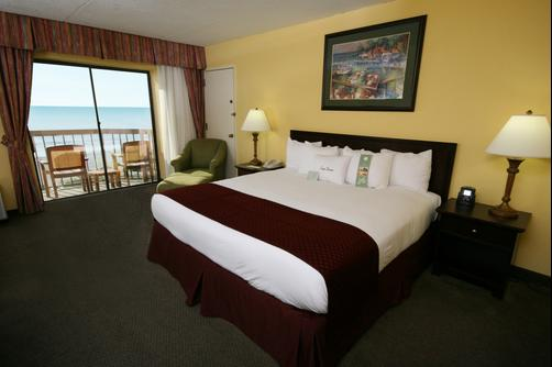 DoubleTree by Hilton Hotel Cocoa Beach Oceanfront - Cocoa Beach - Bedroom