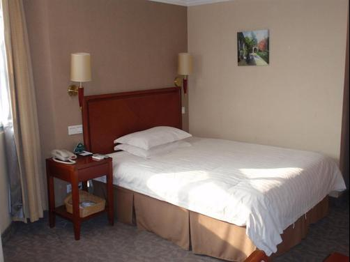 Greentree Inn Yangzhou Plaza Hotel - Yangzhou - Bedroom