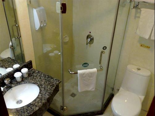 Greentree Inn Yangzhou Plaza Hotel - Yangzhou - Bathroom