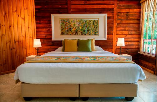 Acajou Beach Resort - Praslin Island - Bedroom