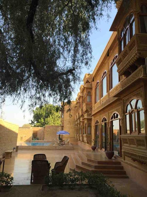 Golden Haveli - Jaisalmer - Outdoors view