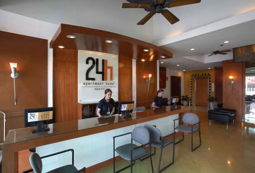 24h Apartment Hotel - Makati - Front desk