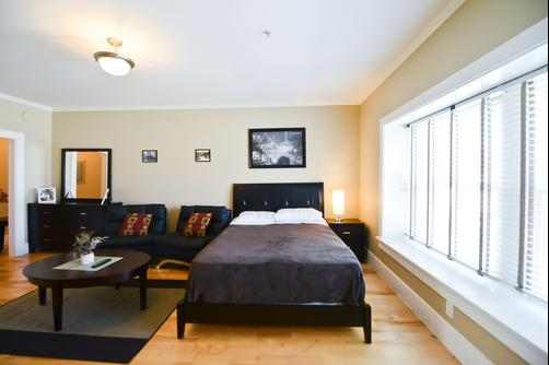 Hollywood Studios Apartment - Los Angeles - Bed