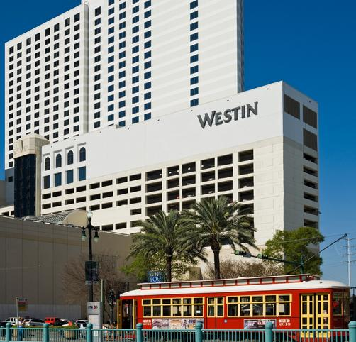 The Westin New Orleans Canal Place - New Orleans - Building