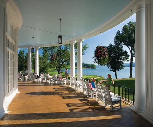 The Otesaga Hotel - Cooperstown - Patio
