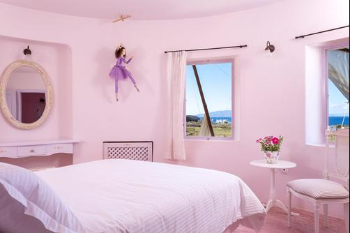Windmill Villas - Imerovigli - King bedroom