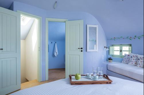 Windmill Villas - Imerovigli - Bedroom