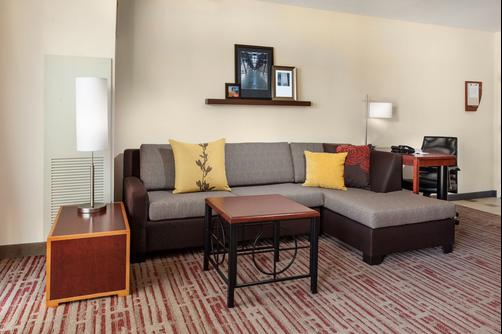 Residence Inn by Marriott Chicago Downtown/River North - Chicago - Living room