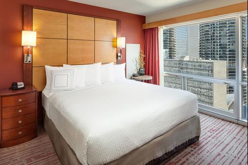 Residence Inn by Marriott Chicago Downtown/River North - Chicago - Queen bedroom