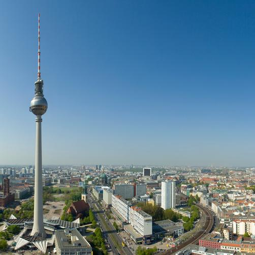 Park Inn by Radisson Berlin Alexanderplatz - Berlin - Outdoors view