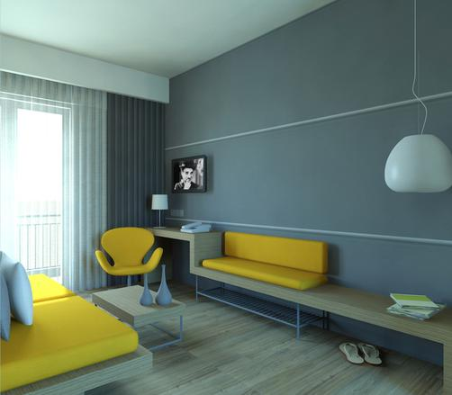 Kriti Hotel - Chania (Crete) - Living room